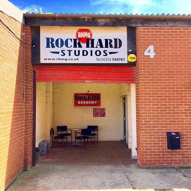 Beautiful day for rocking and rolling here at Rock Hard Studios_••••_#RHMG_#Music_#Studio_#LiveMusic