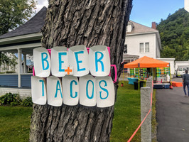 need we say more? - Trail Break taps + tacos