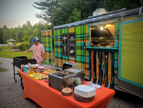 catering a VT wedding - Trail Break taps + tacos