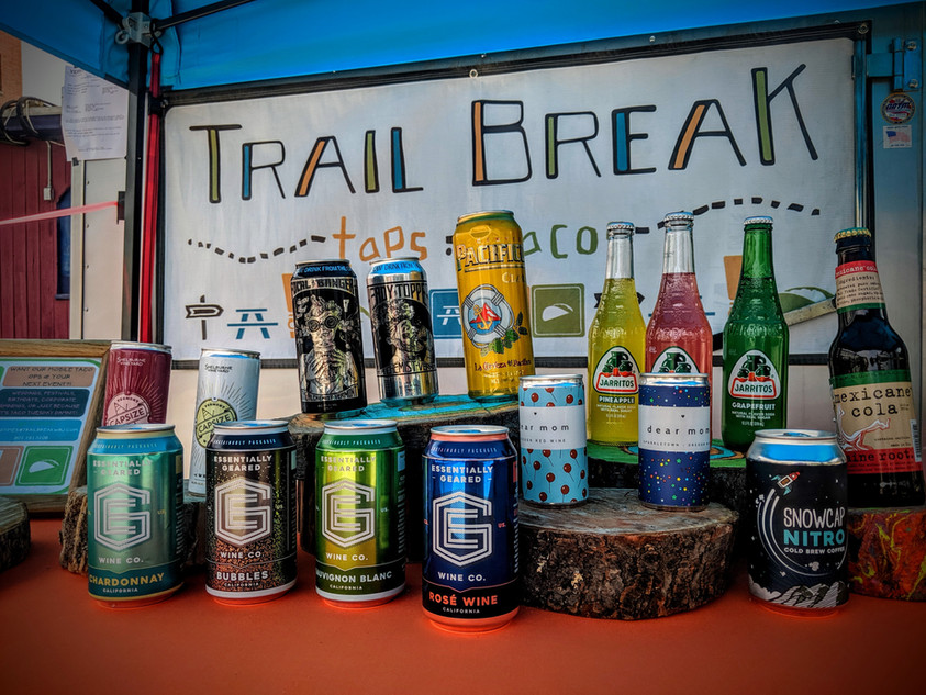 taco truck bar service - Trail Break taps + tacos