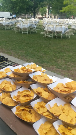 400 person reuinion lunch catered - Trail Break taps + tacos