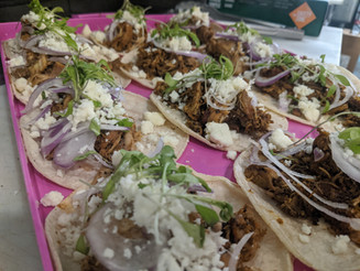 taco catering  - Trail Break taps + tacos