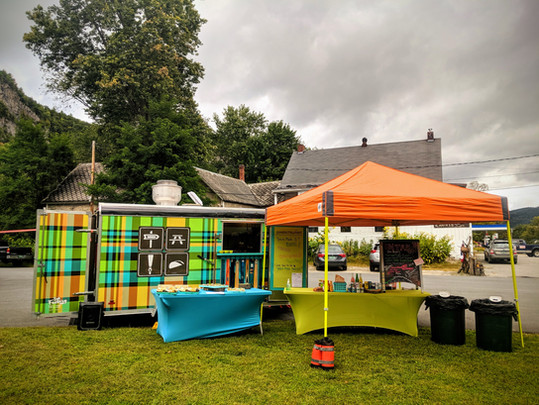 Vermont taco truck gigs - Trail Break taps + tacos