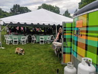 taco trailer catering gig - Trail Break taps + tacos