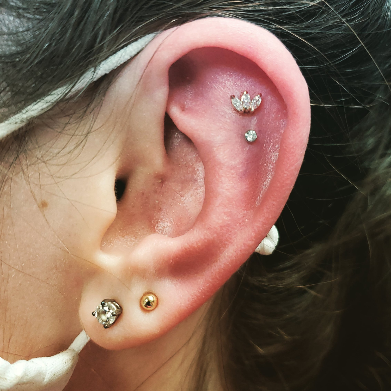 Multiple piercing's