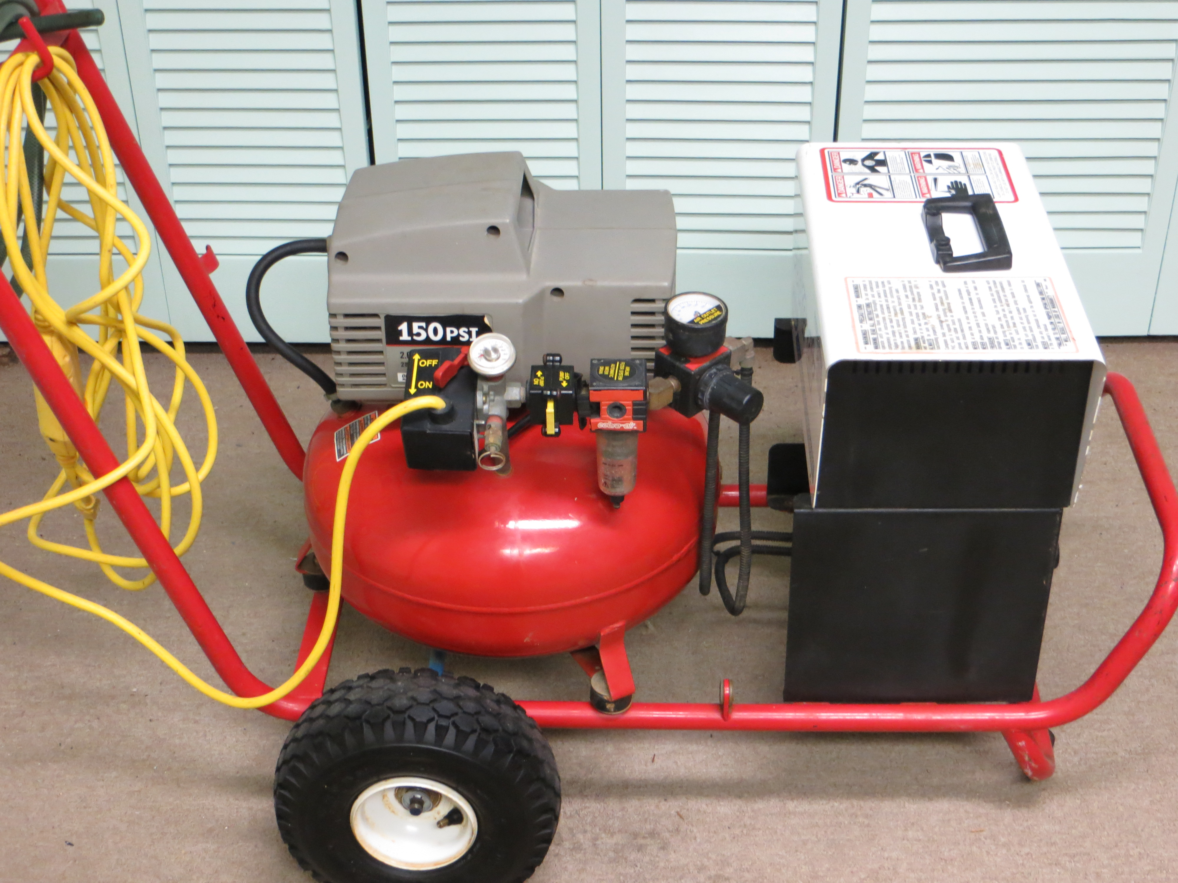 Cobra-Air Restoration Sprayer