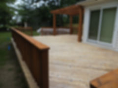 Deck refinishing Cleveland Ohio