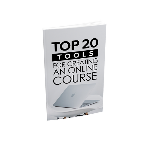 Top 20 Tools For Creating an Online Course - Ebook