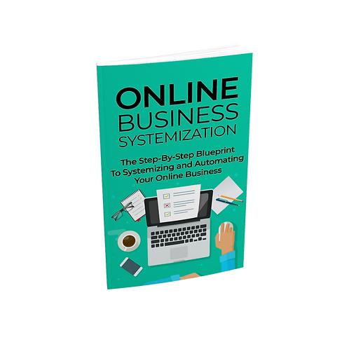 Online Business Systemization - Ebook