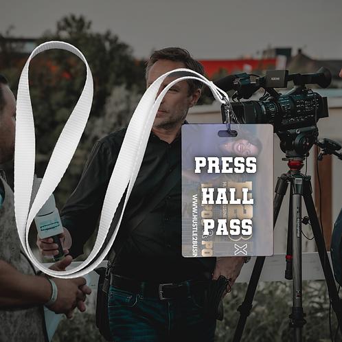 Press Hall Pass