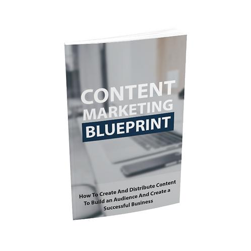 Content Marketing Blueprints - Ebook