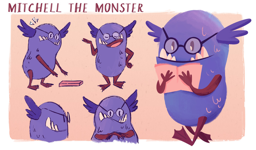Mitchell the Monster