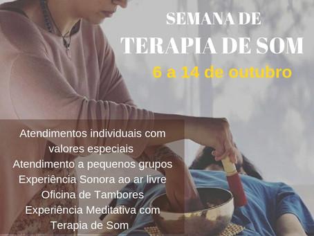 SEMANA DE TERAPIA DE SOM - BH