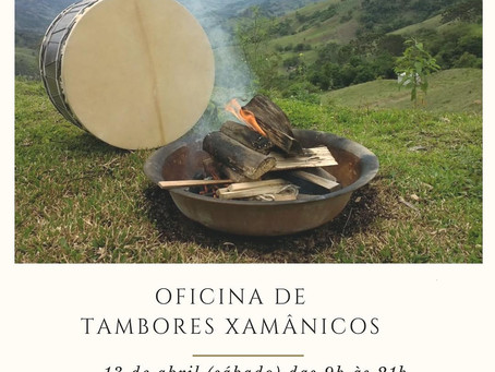 OFICINA DE TAMBORES XAMÂNICOS