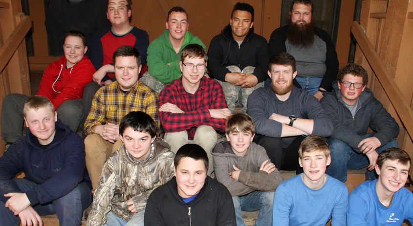 Group of Camp Cameron boys