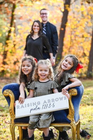 Adoption Finalization for 3 sisters