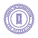 A logo seal for Council on Accreditation