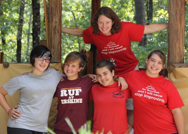 Girls at Camp Duncan