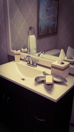 The Grey Lady Half Bath