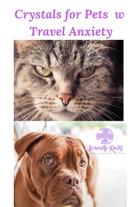 crystals for pets with travel anxiety