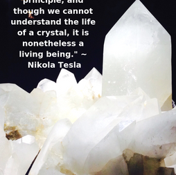 Crystals are Life Forms