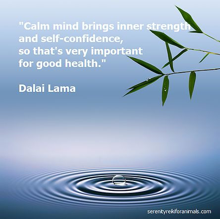 Calm Mind brings inner strength and self confidence