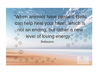 Reiki for animals who have passed can he
