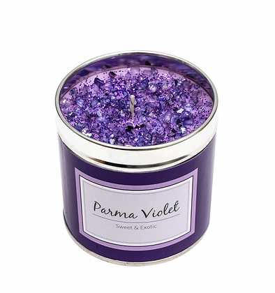 Parma Violet Candle Tin