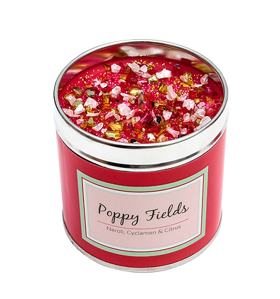 Poppy Fields Candle Tin