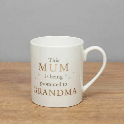 Mum Promoted To Grandma Mug