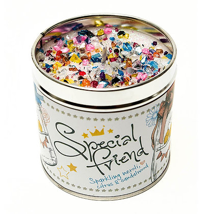 Special Friend Candle Tin