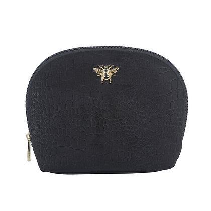 Black Velvet Make up Bag