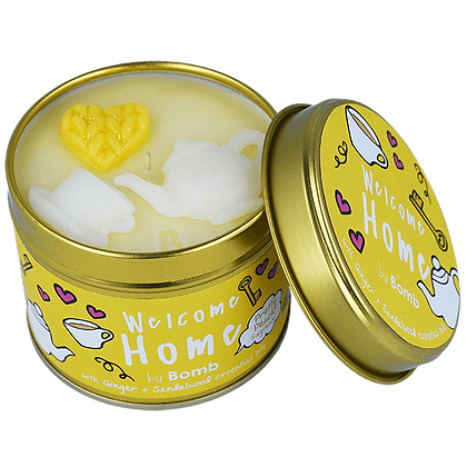 Welcome Home Candle Tin