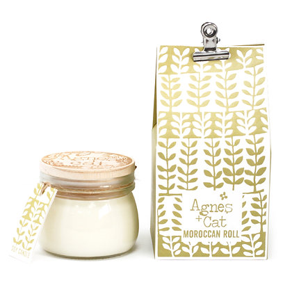 Agnes + Cat Moroccan Roll Candle