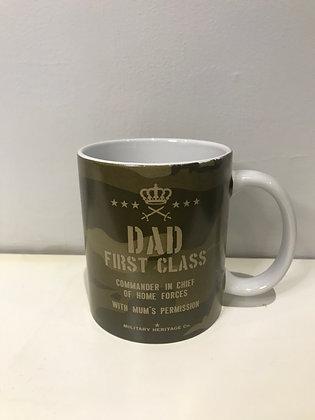 First Class Dad Mug