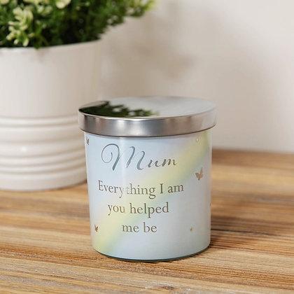 Mum Quote Candle Jar