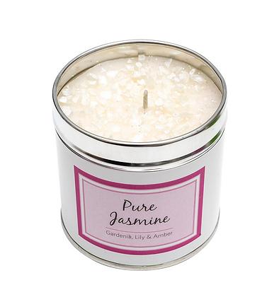 Pure Jasmine Candle Tin