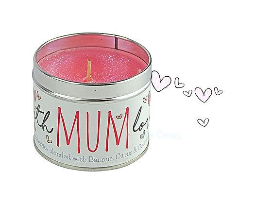 Mum Candle Tin