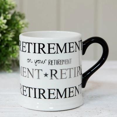 Retirement Foil Mug