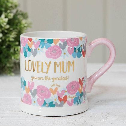 Quicksilver Lovely Mum Mug