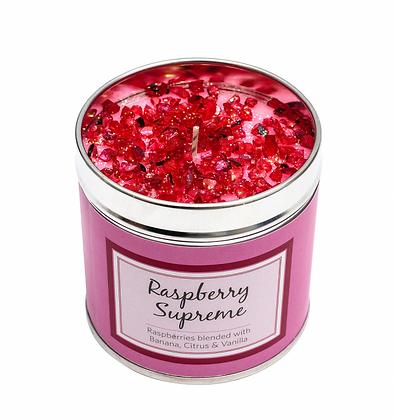 Raspberry Candle Tin