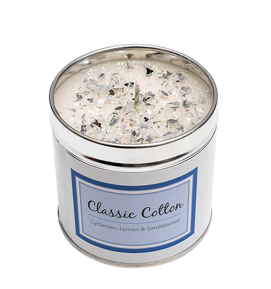 Classic Cotton Candle Tin