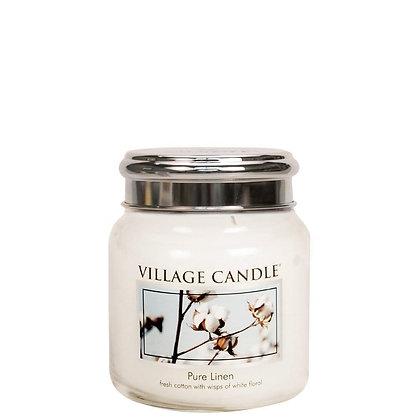 Pure Linen Village Candle Jar