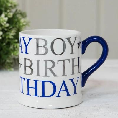Birthday Boy Foil Mug