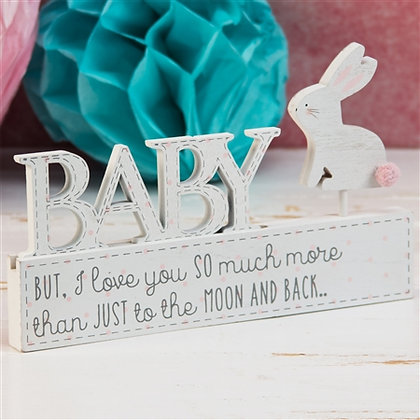 Baby Girl Mantal Plaque