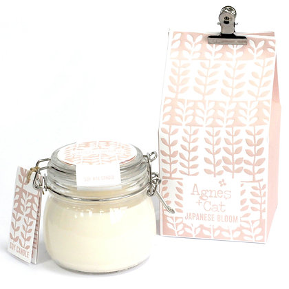 Agnes + Cat Japanese Bloom Candle