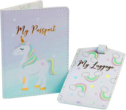 Unicorn Passpot & Tag Gift Box