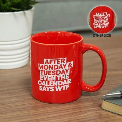 Novelty Calender Quote Mug