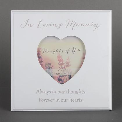 In Loving Memory Photo Frame