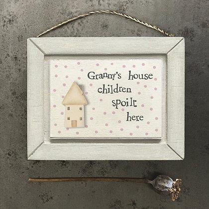 Grannys House Sign